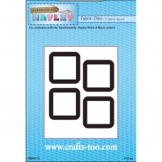 """Handmade By Hayley - Fabric Dies - 3"""" Quarter Squares - DISPATCHING 3 - 5 DAYS"""