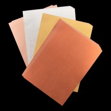 Metallic Linen Card Bundle