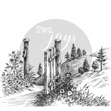 Two Jays Clear Stamp - Gateway