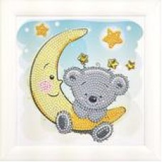 Teddy on the Moon - Frameables Kit with Picture Frame