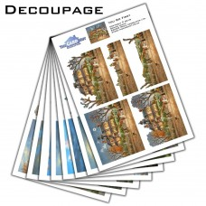 Dennis Lewan Decoupage Kit