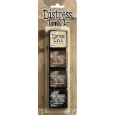 Distress Mini Ink Pads - Kit 3
