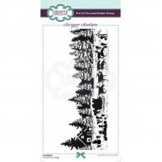 Designer Boutique Collection - Santa Claus Village DL Pre Cut Rubber Stamp