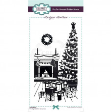 Designer Boutique Collection - The Night Before Christmas DL Pre Cut Rubber Stamp