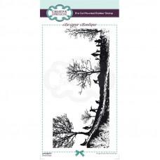 Designer Boutique Collection - Snow Days DL Pre Cut Rubber Stamp