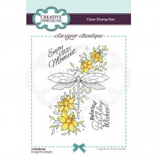 Designer Boutique Collection - Dragonfly Delight A6 Clear Stamp - DISPATCHING WEDNESDAY 3rd MARCH