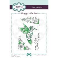 Designer Boutique Collection - Follow Your Dreams A6 Clear Stamp