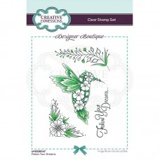 Designer Boutique Collection - Follow Your Dreams A6 Clear Stamp - DISPATCHING WEDNESDAY 3rd MARCH