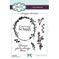 Designer Boutique Collection - Springtime Blooms A6 Clear Stamp Set
