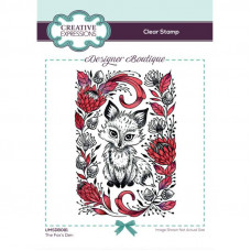 Designer Boutique Collection - The Fox's Den A6 Clear Stamp Set
