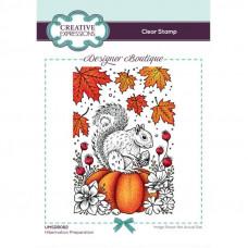 Designer Boutique Collection - Hibernation Preparation A6 Clear Stamp Set