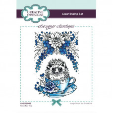 Designer Boutique Collection - Time For Tea A6 Clear Stamp Set