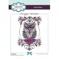 Designer Boutique Collection - Owl Be There For Twit Twoo A6 Clear Stamp Set