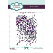 Designer Boutique Collection - Jellyfish Blooms A6 Clear Stamp Set