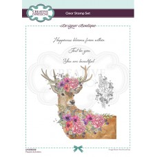 Designer Boutique Collection Flowers & Antlers