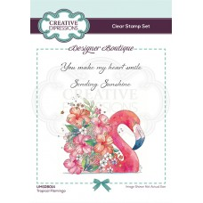 Designer Boutique Collection - Tropical Flamingo