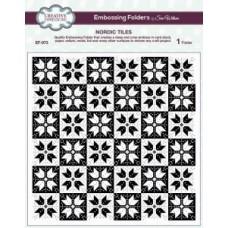 Emboss Folder 8 x 8 Nordic Tiles