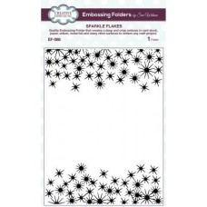 Emboss Folder 5 3/4 x 7 1/2 Sparkle Flakes