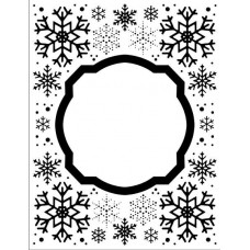 Embossing Folder - Eve's Snowflakes