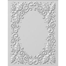 Emboss Folder 3D Holly Swirls