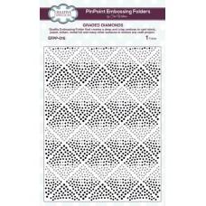 Emboss Folder Graded Diamonds PinPoint 190mm x 145mm