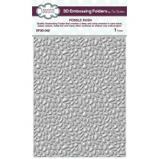 January Collection - 3D Embossing Folder - Pebble Rush