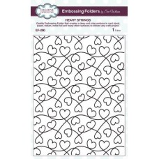 Embossing Folder - Heart Strings