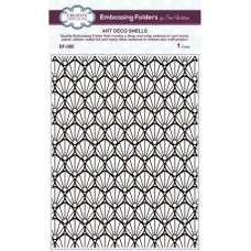 Embossing Folder - Art Deco Shells