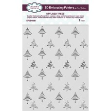 Creative Expressions 3D Embossing Folder - Stylised Trees