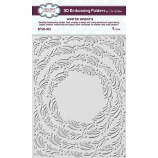 Creative Expressions 3D Embossing Folder - Winter Wreath