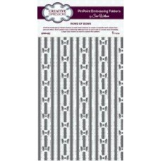 Rows of Bows PinPoint Embossing Folder