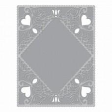 Spellbinders Cut & Emboss Folder - Diamond Lace Frame