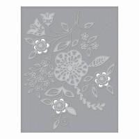 Spellbinders Cut & Emboss Folder - Blooming Sprigs