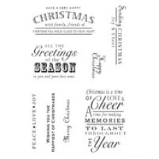 Woodware Clear Magic - A Heartfelt Christmas