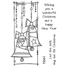 Woodware Clear Singles - Christmas Bells