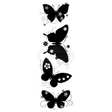 Woodware Clear Singles Butterfly Silhouettes