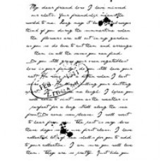 Woodware Clear Singles - Old Letter