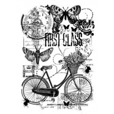 Woodware Clear Singles - Bicycle Collage