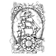 Woodware Clear Singles Stamps - Ship Ahoy