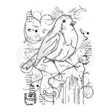Woodware Clear Singles - Frosty Robin