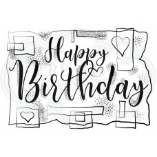 Woodware Clear Singles Birthday Strips