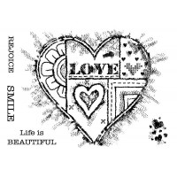 Woodware Clear Singles - Bold Heart - DISPATCHING THURSDAY 15th NOVEMBER