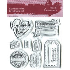 Handmade with Love Clear Stamp Set