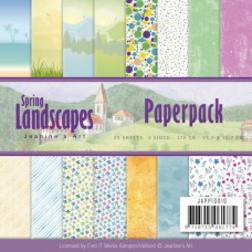 Jeanine's Art Spring Landscapes Paperpack