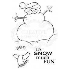 Woodware Clear Singles - Chunky the Snowman