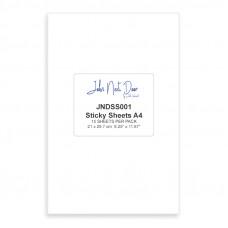 John Next Door - A4 Sticky Sheets