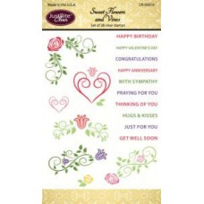 Roses and Vines Clear Stamp Set