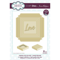 Jamie Rodgers - Canvas Collection - Large Square Craft Die