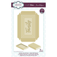 Jamie Rodgers - Canvas Collection - Large Rectangle Craft Die