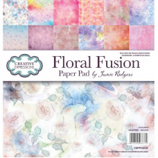 Jamie Rodgers - Floral Fusion 8 x 8 Paper Pad